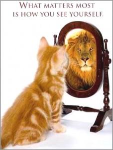 """Zie jezelf als een """"stuk""""!"""
